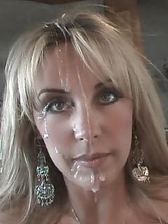 MILF Facial Pics